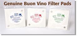 Buon Vino Filter Pads Photo